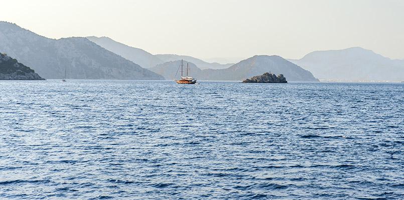"""Etappe der """"Blauen Reise"""": die Bucht von Marmaris"""