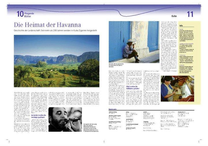 Das Tabakland von Kuba: die Reportage von Hilke Maunder in den Fliegenden Blättern der Frankfurter Rundschau