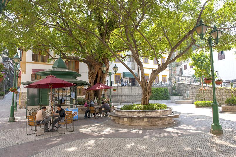 Lilau, das portugiesische Viertel von Macao