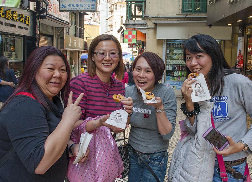Egg Tarts sind Kult in Macao