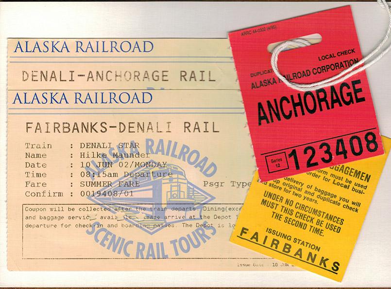 Unterwegs in Alaska mit den Zügen der Alaska Railroad