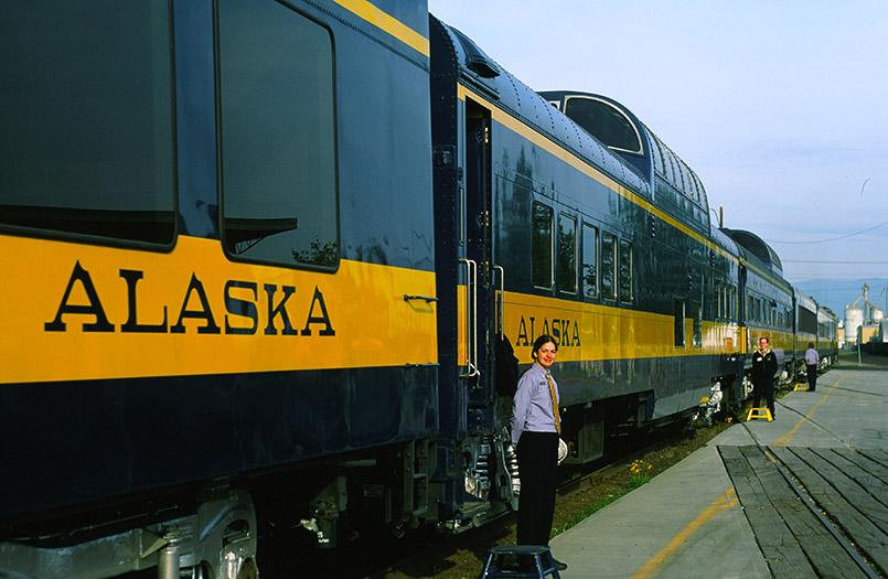Unterwegs in Alaska mit der Alaska Railroad
