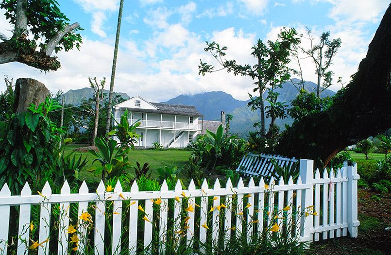Unterwegs auf Hawaii: das Waioli-Missionshaus von Hanalei auf Kauai