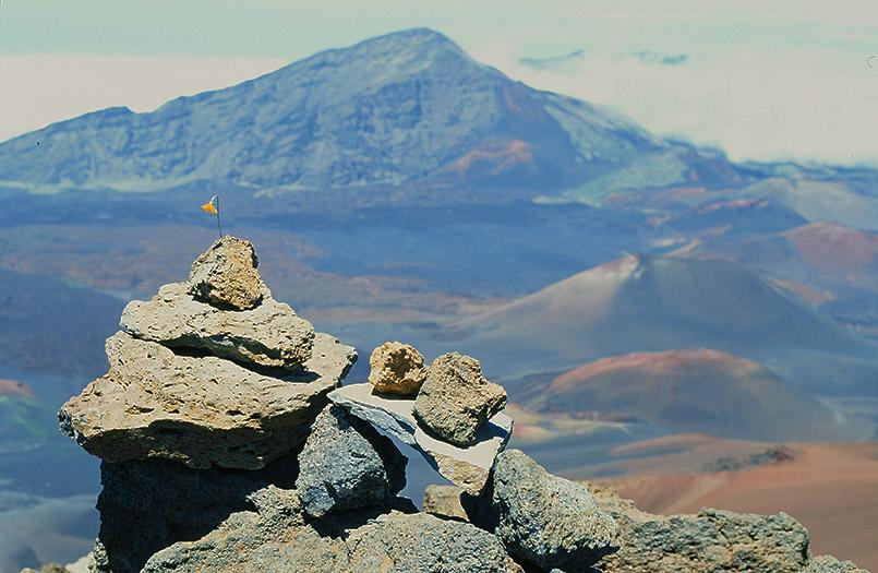 Feuriges Hawaii: der Krater des Haleakala auf Maui