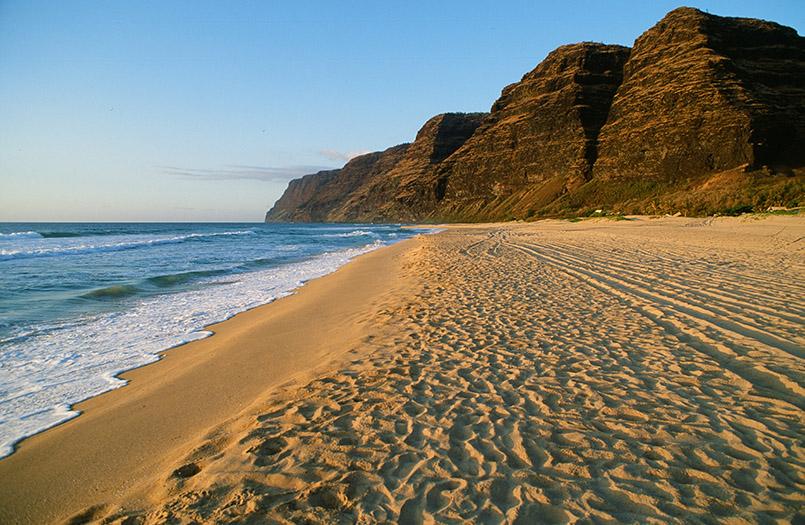 Die schönsten Strände von Hawaii: Polihale Beach auf Kauai