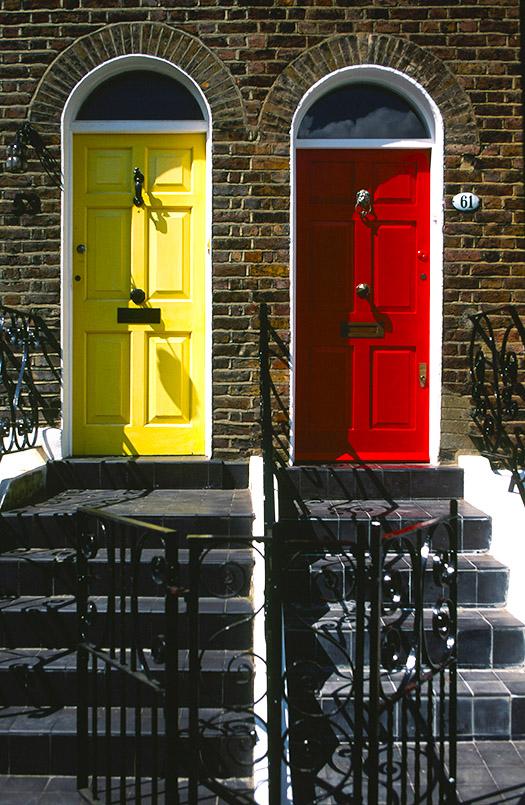 Hampstead: Willow Road, Türen