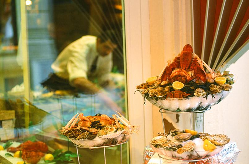 Luxemburg: das Restaurant La Lorraine,