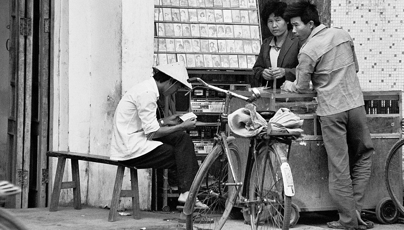 Markthändler bei Haitang. Foto: Hilke Maunder