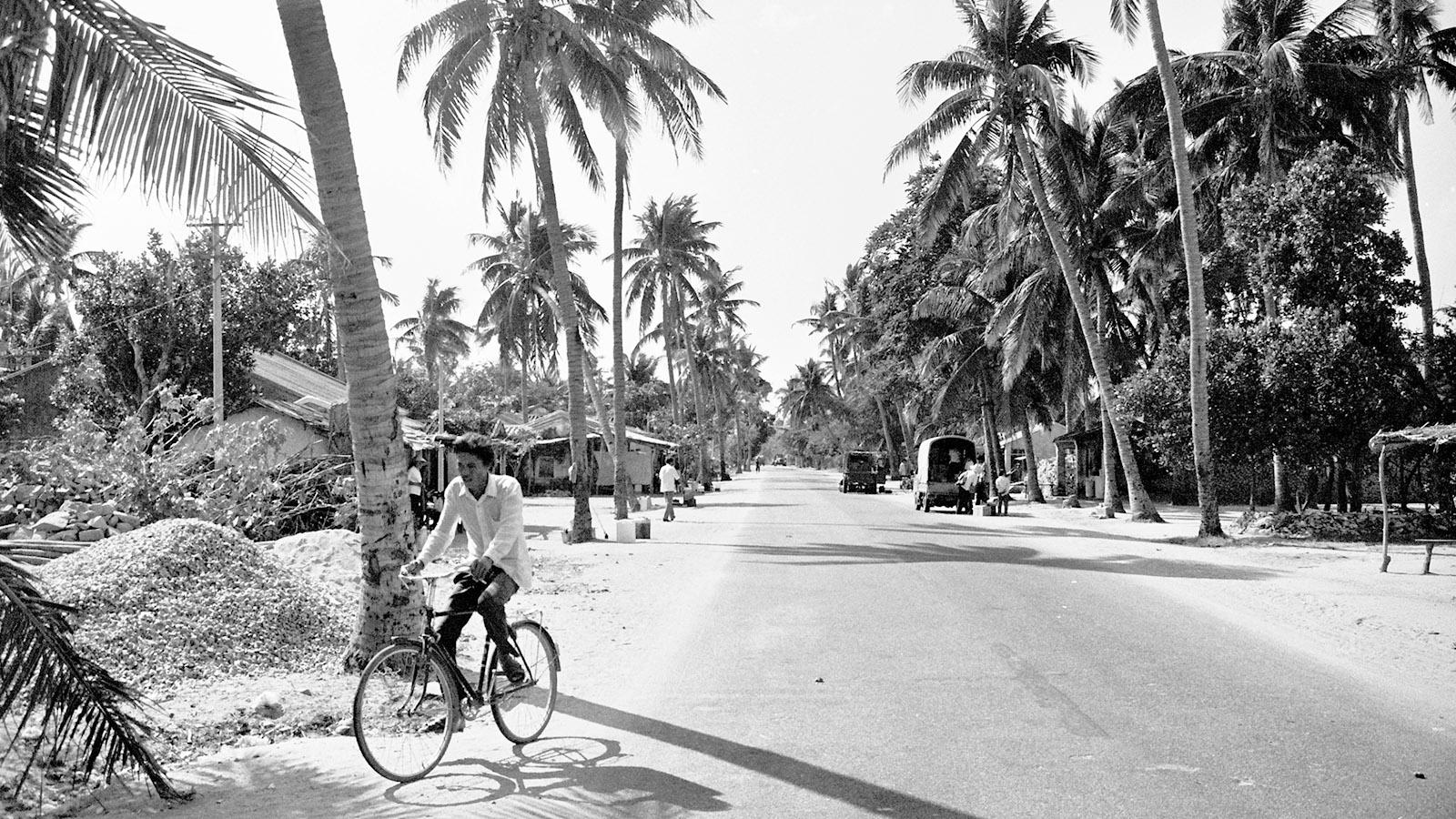 Hainan Dao 1990: Unterwegs über Land. Foto: Hilke Maunder