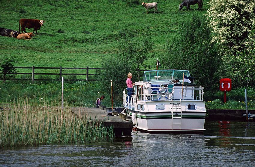 Irland/Bootsurlaub: Unterwegs auf dem Shannon-Erne-Waterway