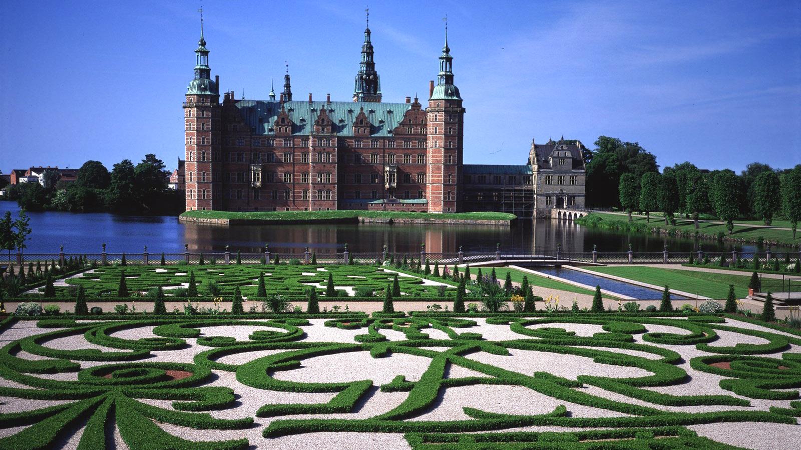 Seeland: Schloss Fredensborg in Hillerød. Foto: Presebild Visit Denmark ohne Namensnennung des Photographen.
