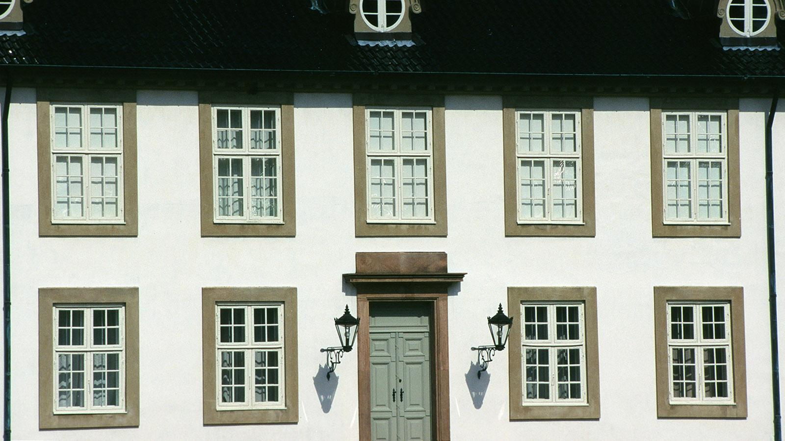 Seeland, Hillerød: die Hoffassade von Schloss Fredensborg- Foto: Hilke Maunder