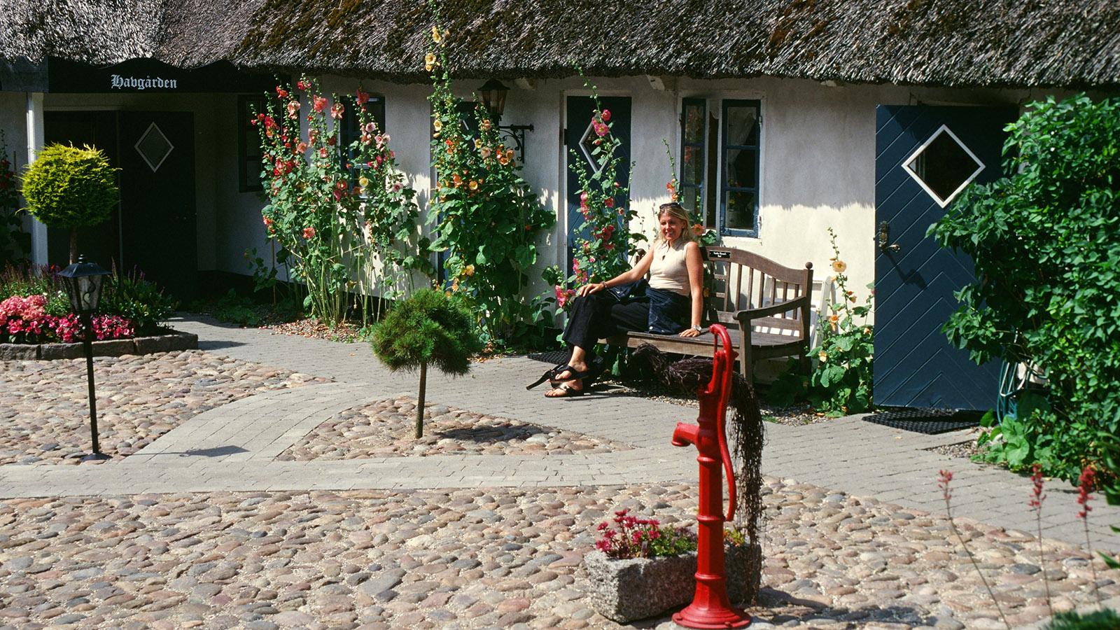 Seeland. Bäuerliche Romantik: der Havgaarden von Tisvildeleje. Foto: Hilke Maunder
