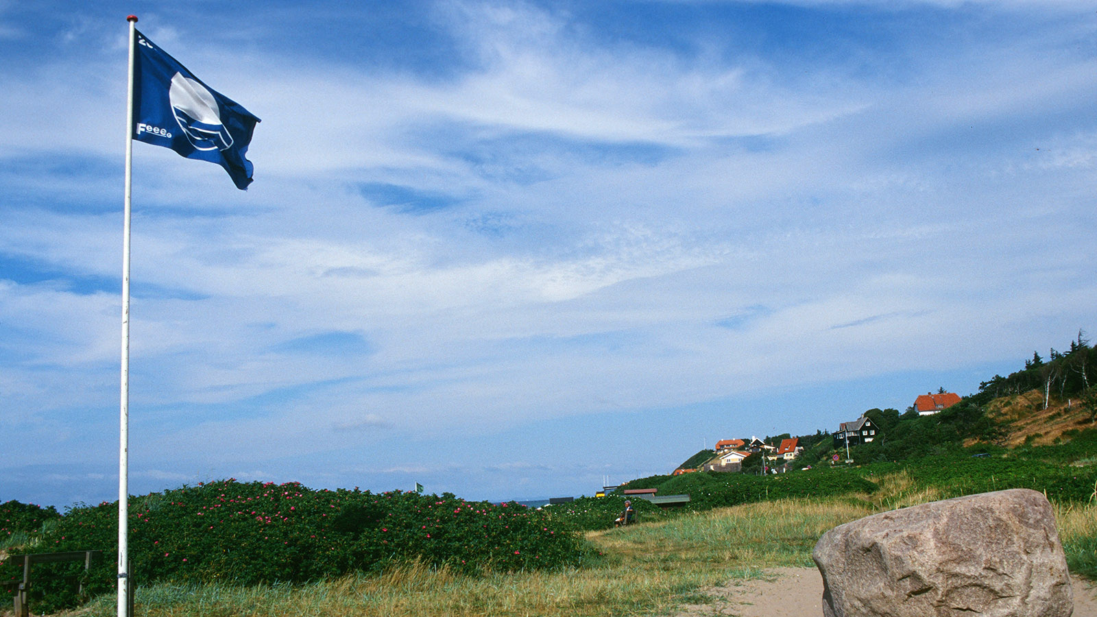 Seeland: Tisveldeleje: Hier geht es zum Strand! Foto: Hilke Maunder