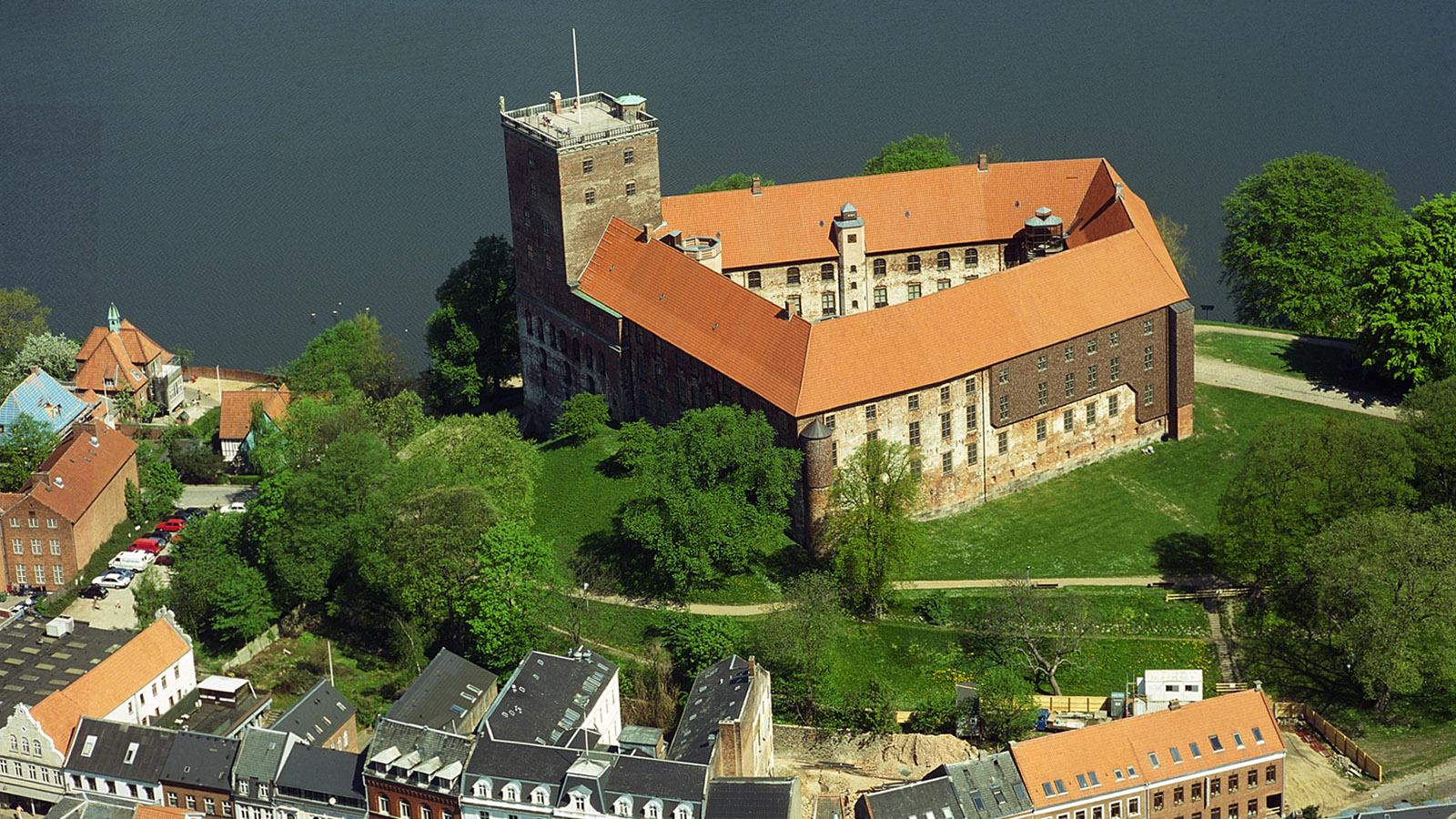 Koldinghus aus der Luft. Foto: Visit Denmark (Pressebild)