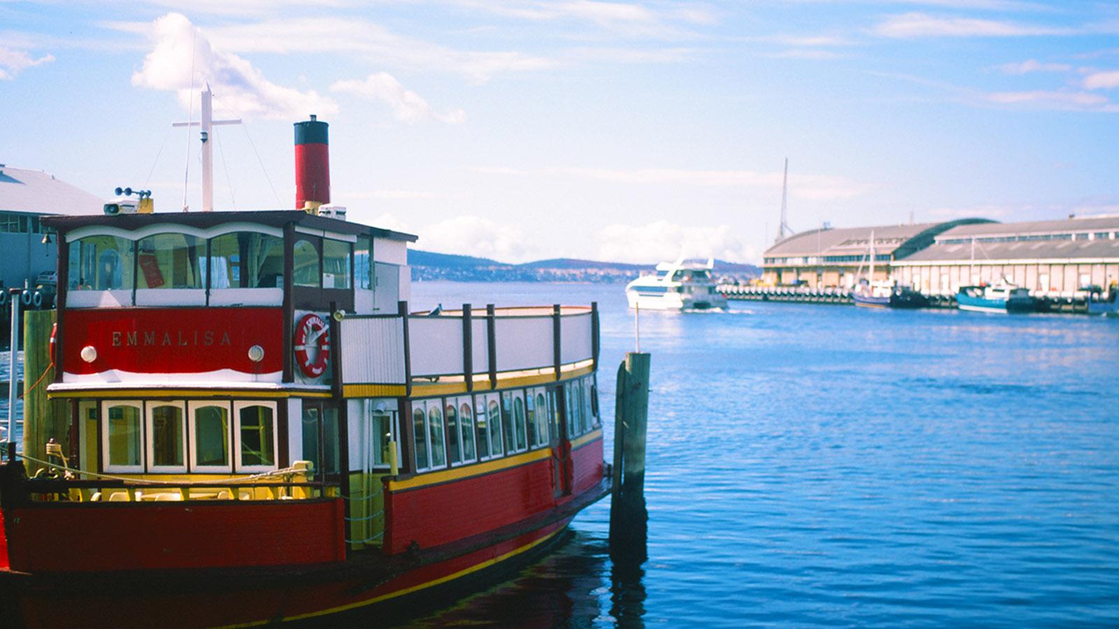 Der Hafen von Hobart. Foto: Hilke Maunder