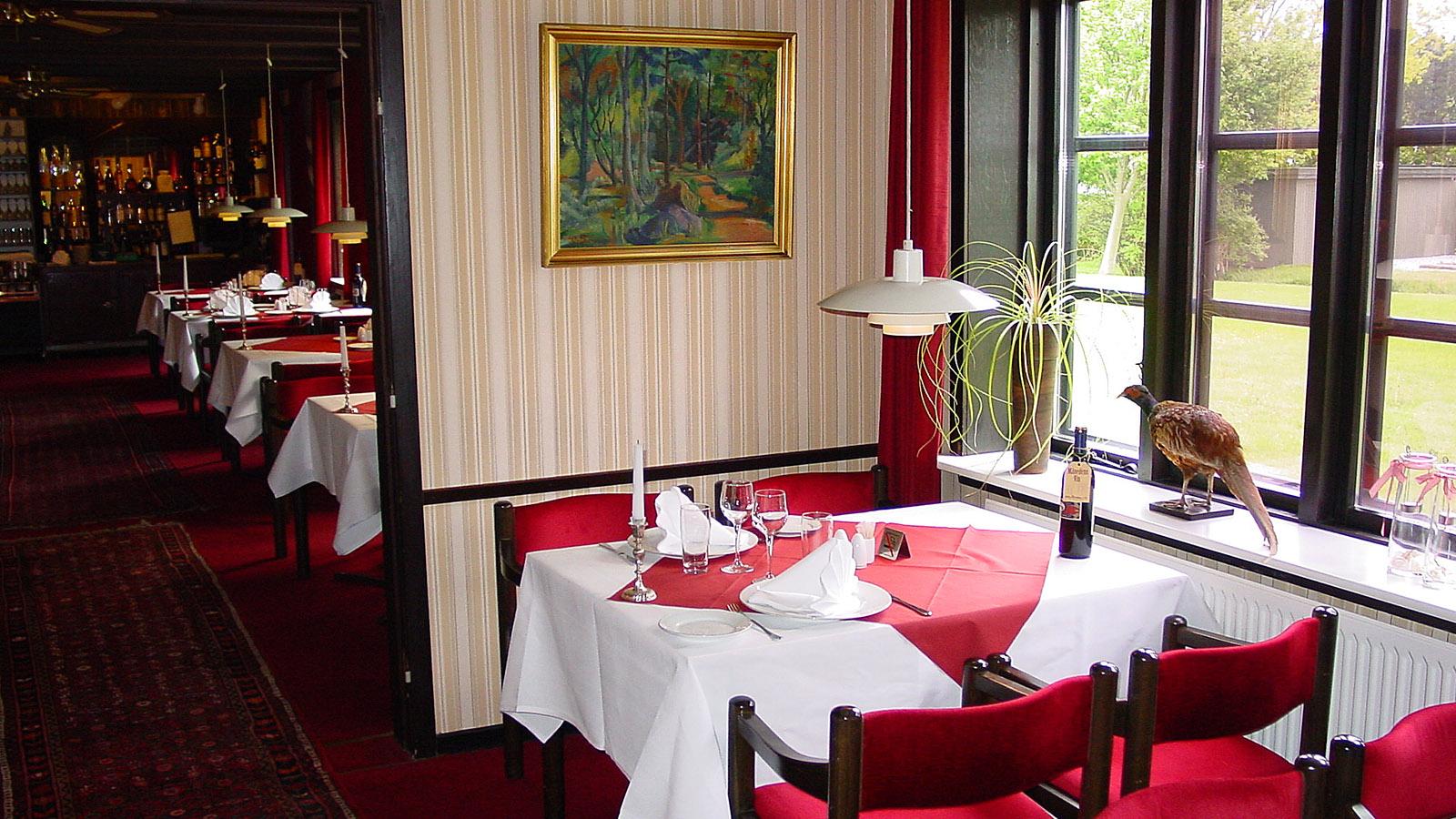 Aalbaek Gl. Kro, Gaststube. Foto: Hilke Maunder