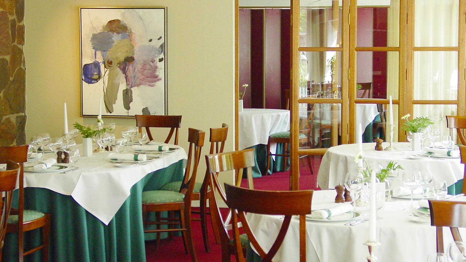 Christie's Srd. Hostrup Kro: das Restaurant. Foto: Hilke Maunder