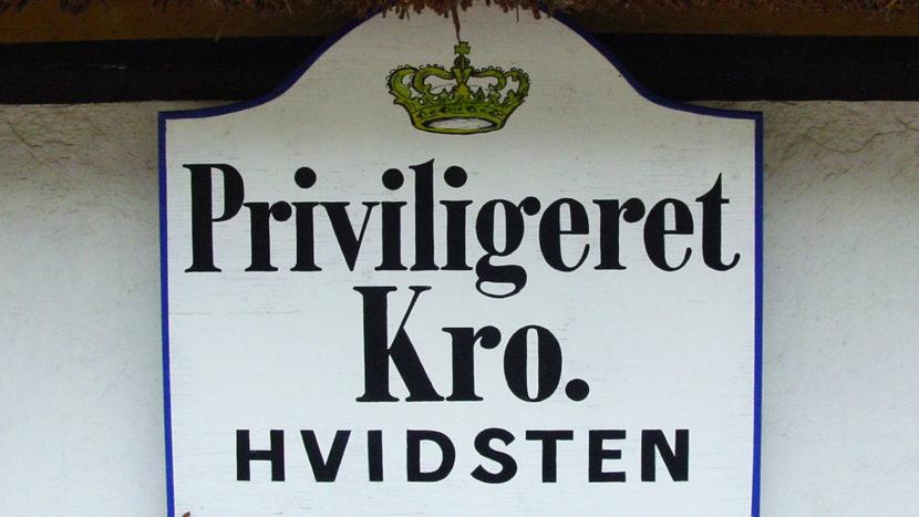 Hvidsten: Priviligeret Kro - vom König ausgewählt als Unterkunft. Foto: Hilke Maunder