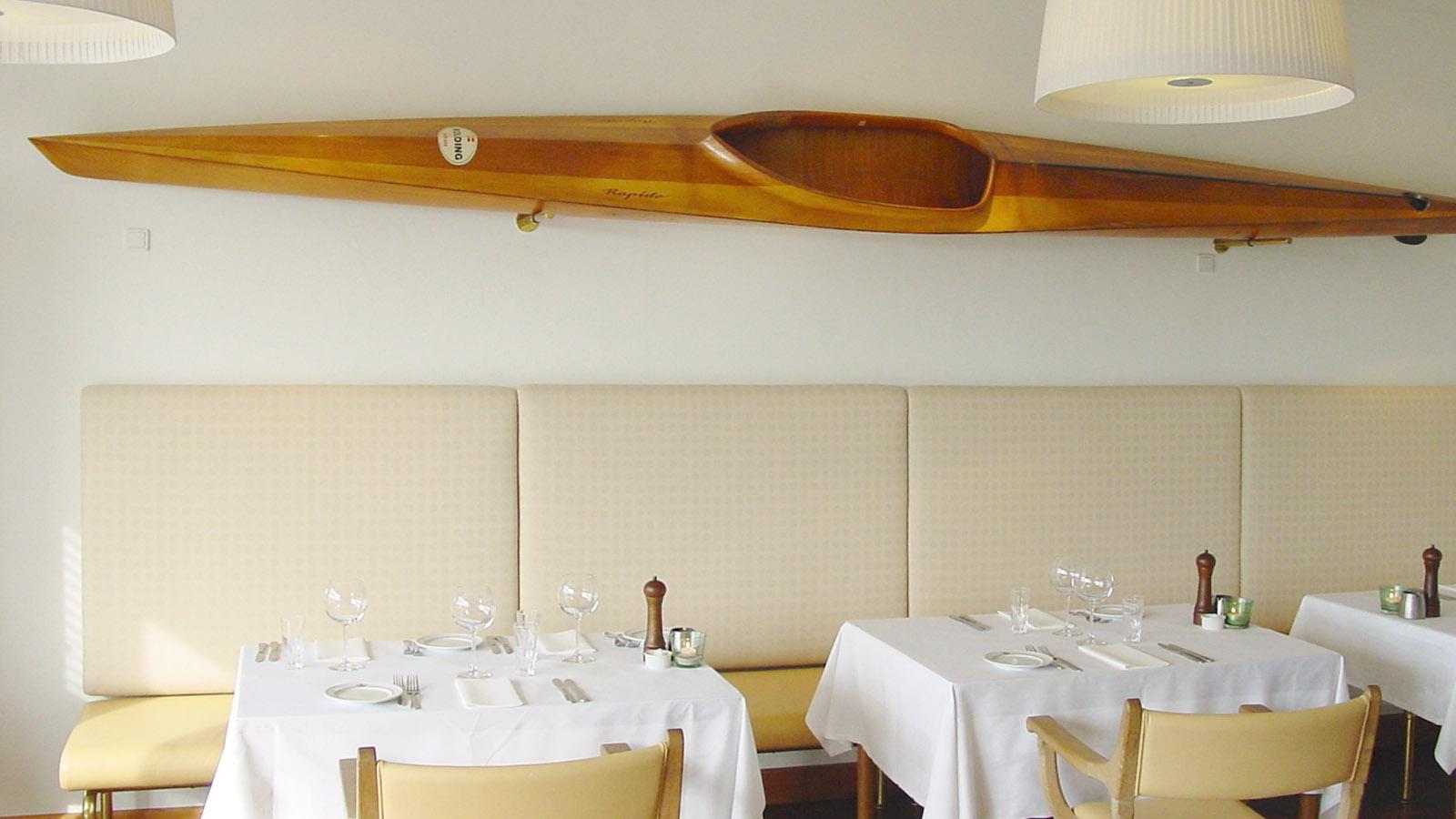 Norsminde Kro: die Brasserie. Foto: Hilke Maunder