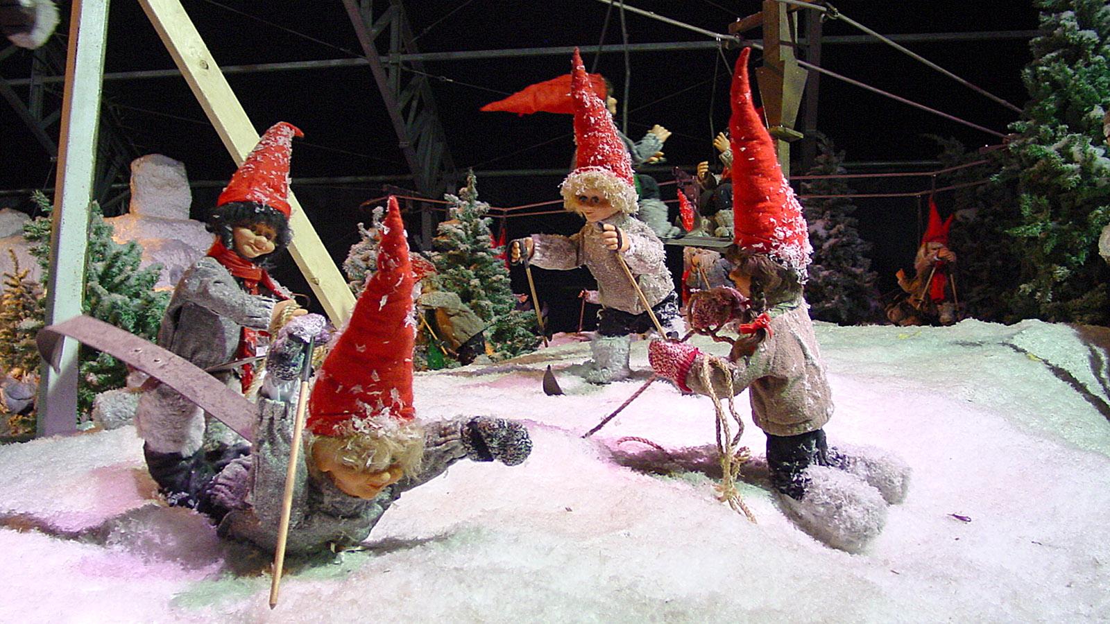 Juletid: Nissekøbing, die Heimat der Weihnachtswichtel vom Tivoli. Foto: Hilke Maunder