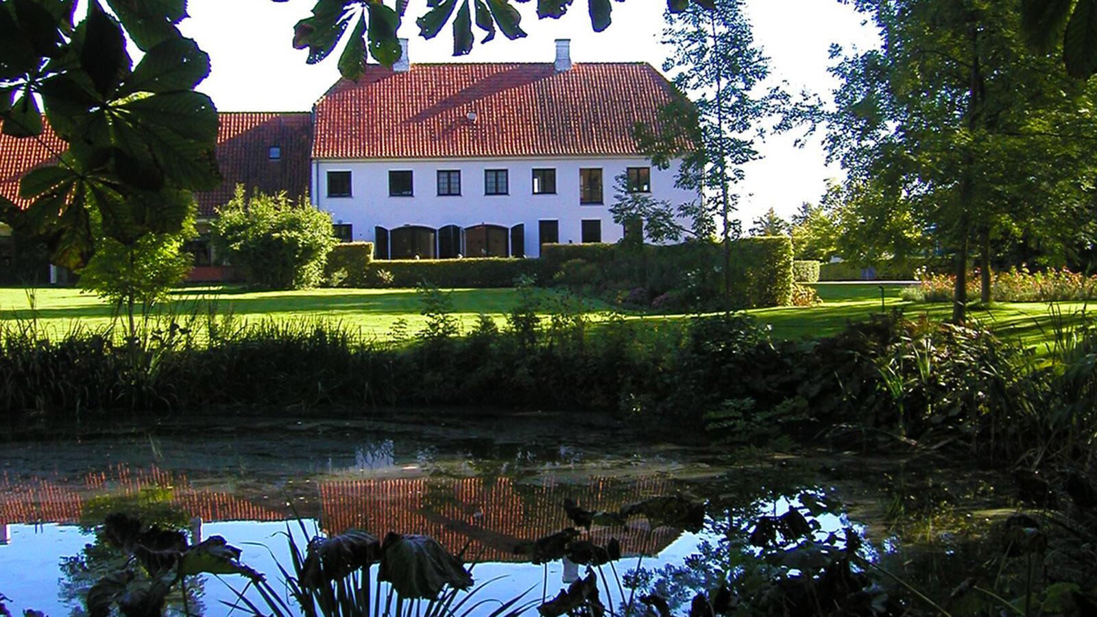 Öresund, Rundstedlund - hier schrieb Tania Brixen ihre Erfolgsromane. Foto: Hilke Maunder