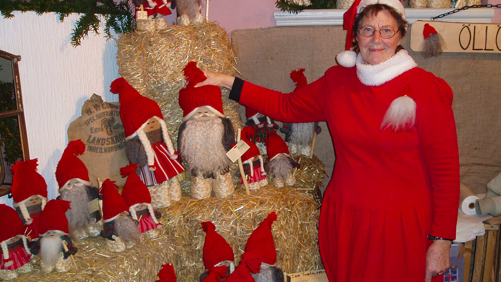 Juletid: Auch die Schweden lieben ihre Weihnachtswichtel! Foto: Hilke Maunder
