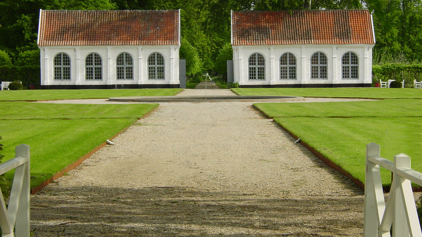 Djursland: Die Parkanlage des Herrensitzes Gammel Estrup. Foto: Hilke Maunder