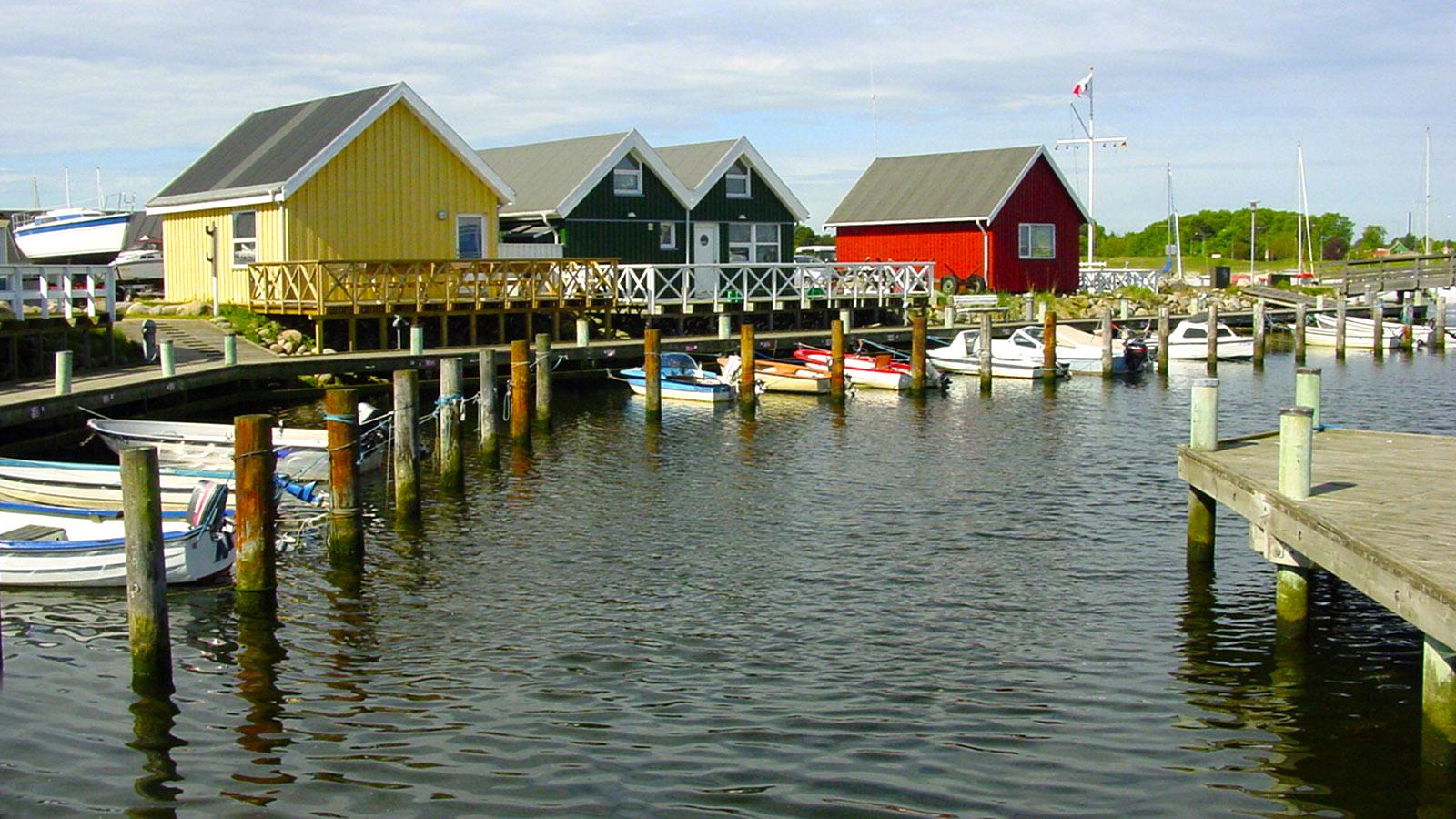 Djursland: Am Hafen von Grenå. Foto: Hilke Maunder