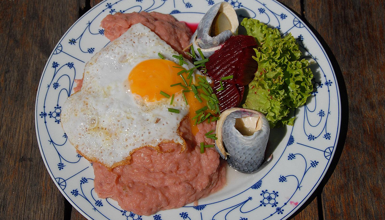 Hooge, Friesenkost: Labskaus. Foto: Hilke Maunder