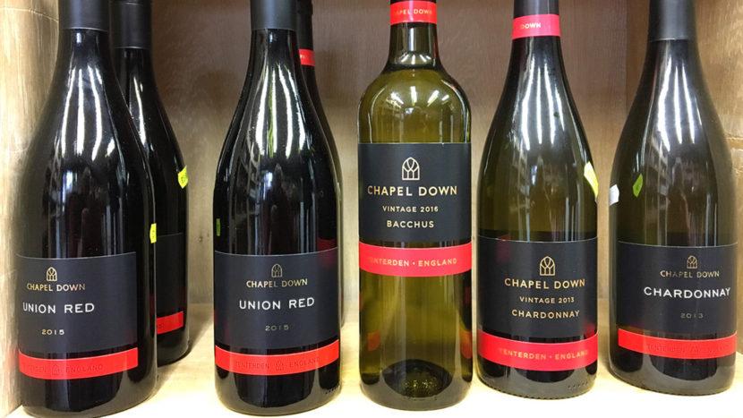 Englischer Wein von Chapel Down. Foto: Hilke Maunder