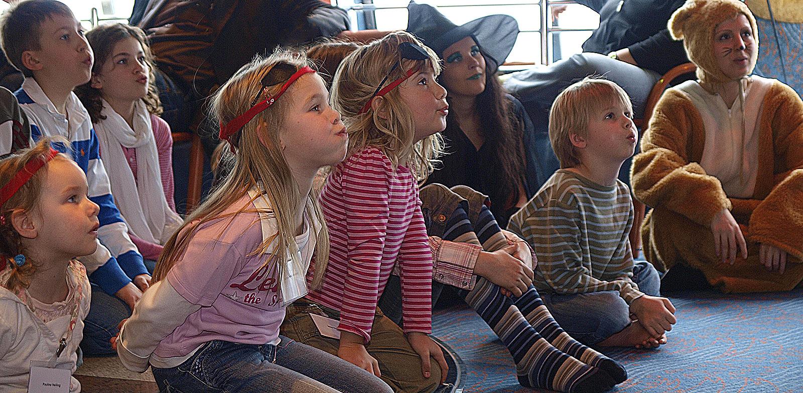 Kinderanimation auf der TT Line. Foto: Hilke Maunder