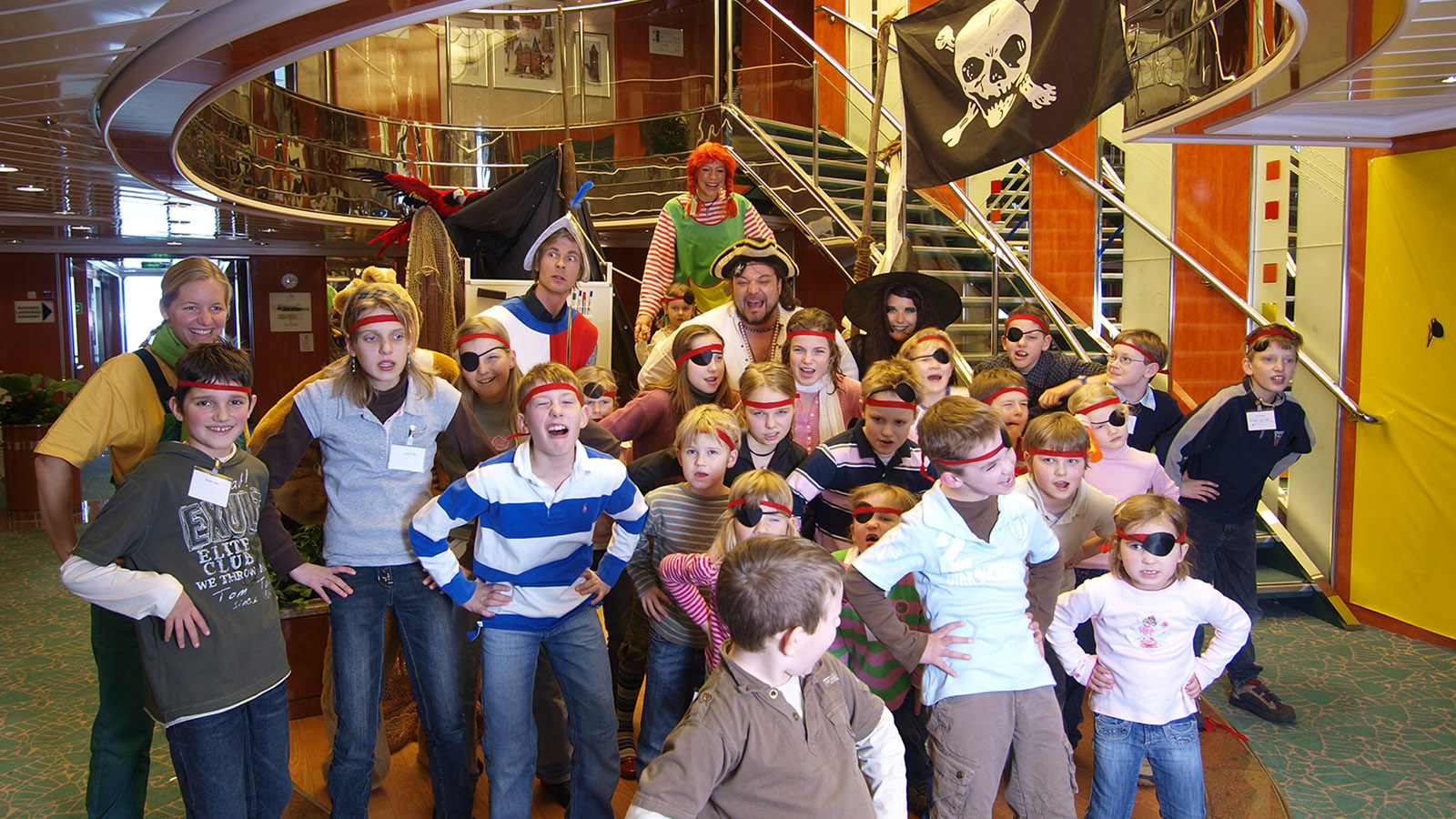 Piratenspektakel für den Nachwuchs: TT Line macht die Fährpassage zum Abenteuer. Foto: Hilke Maunder
