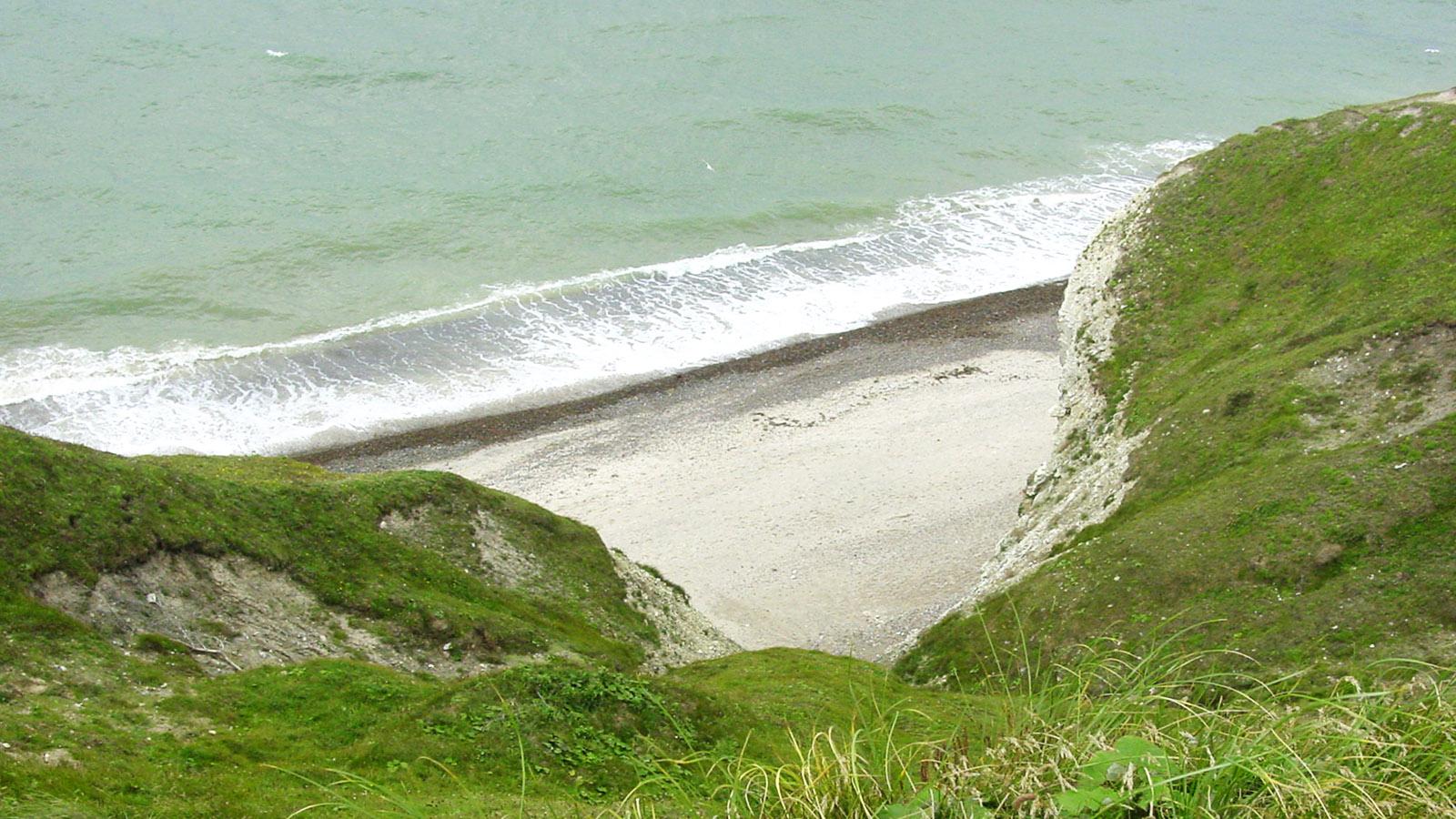 Und nirgendwo ein Mensch. Die Küste von Thy. Foto: Hilke Maunder