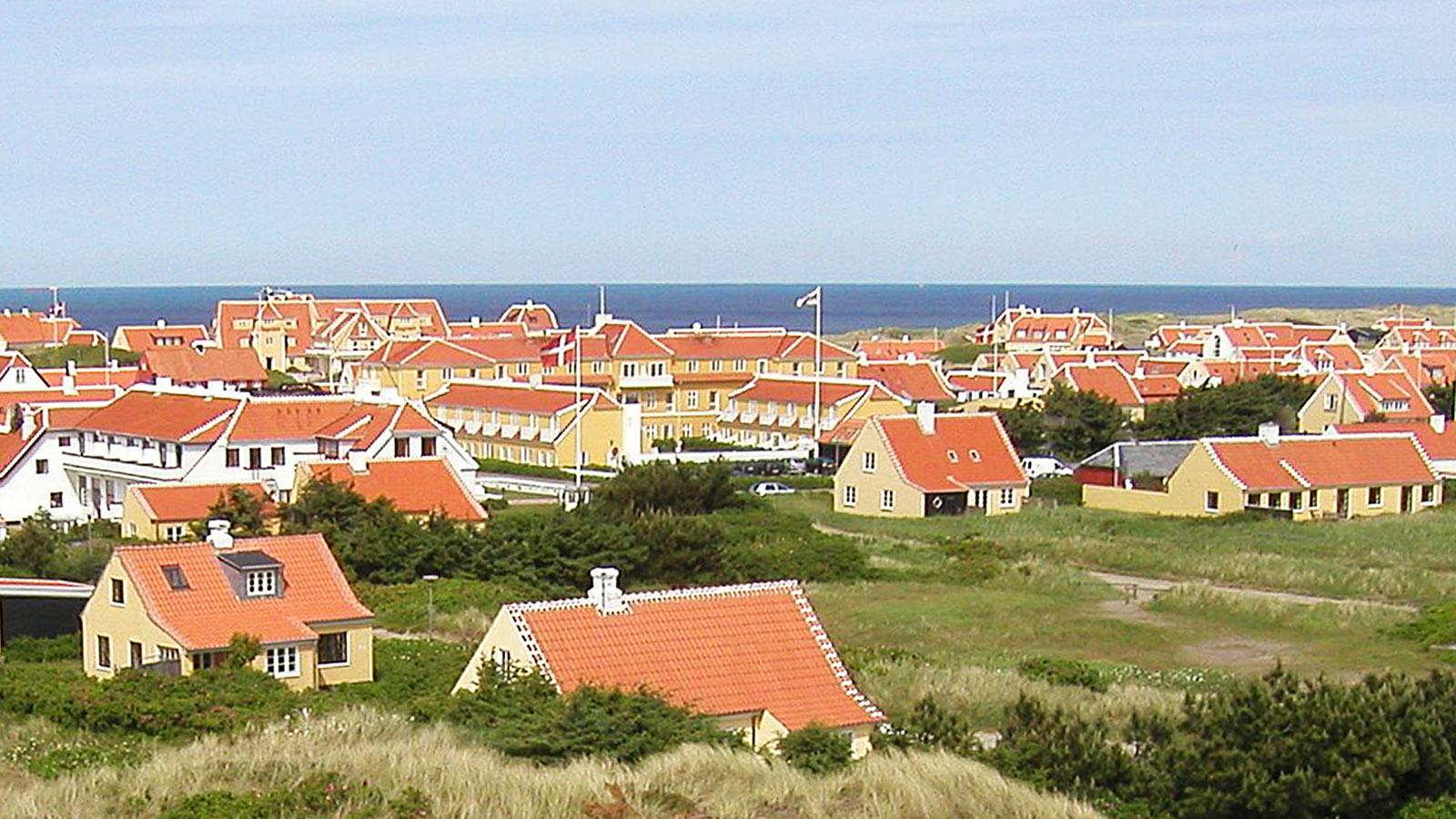 Der Blick auf Gammel Skagen. Foto: Hilke Maunder
