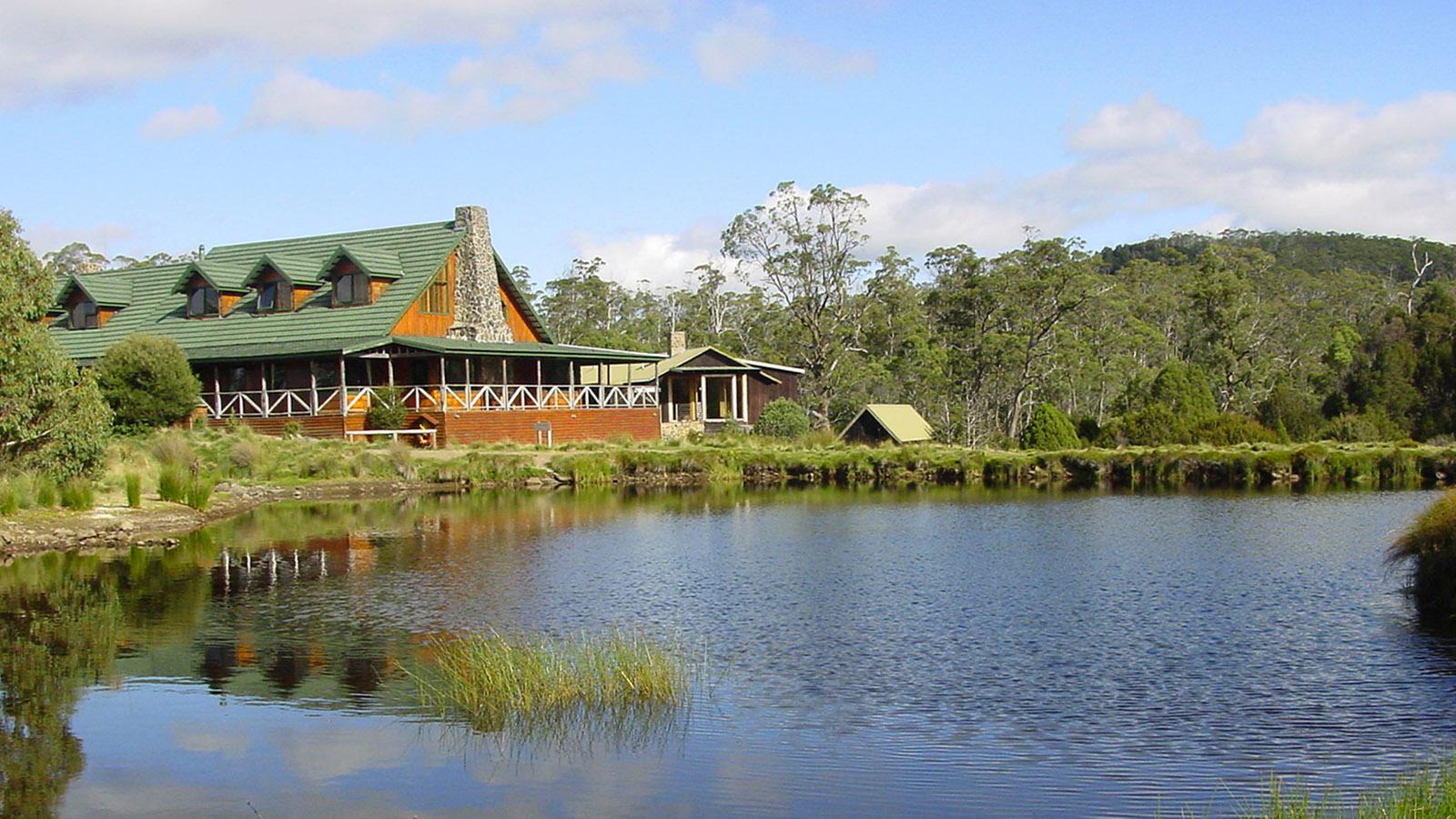Tasmanien, Die Cradle Mountain Lodge. Foto: Hilke Maunder
