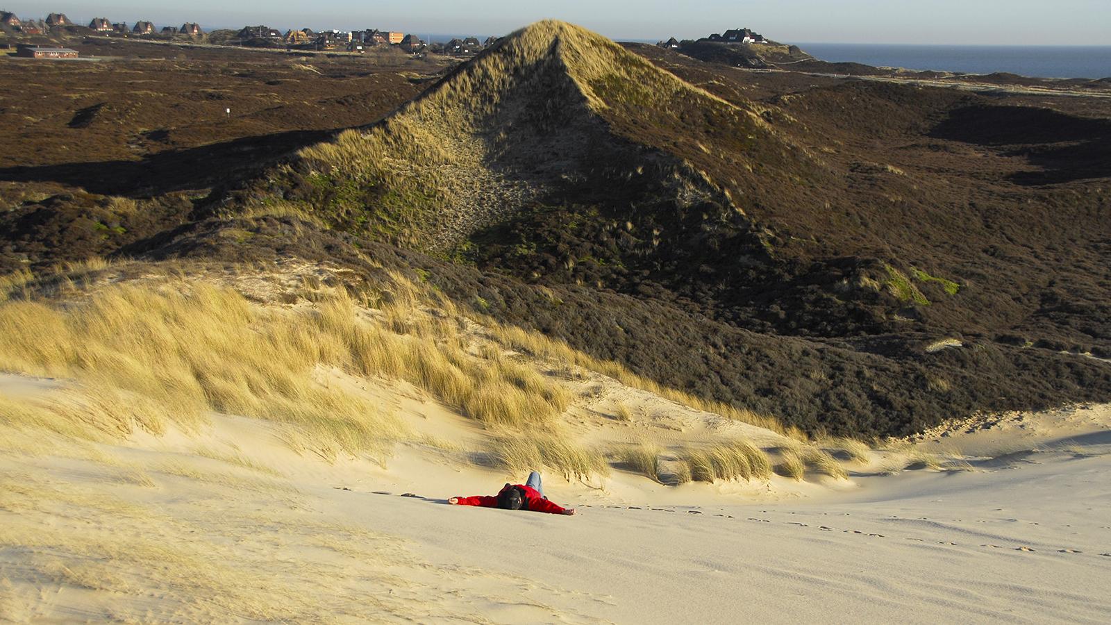 In den Dünen von List. Foto: Hilke Maunder