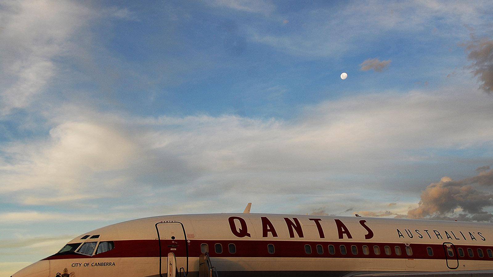 Auf dem Freigelände des Qantas Founders Museums von Longreach: eine Boeing 707. Foto: Hilke Maunder