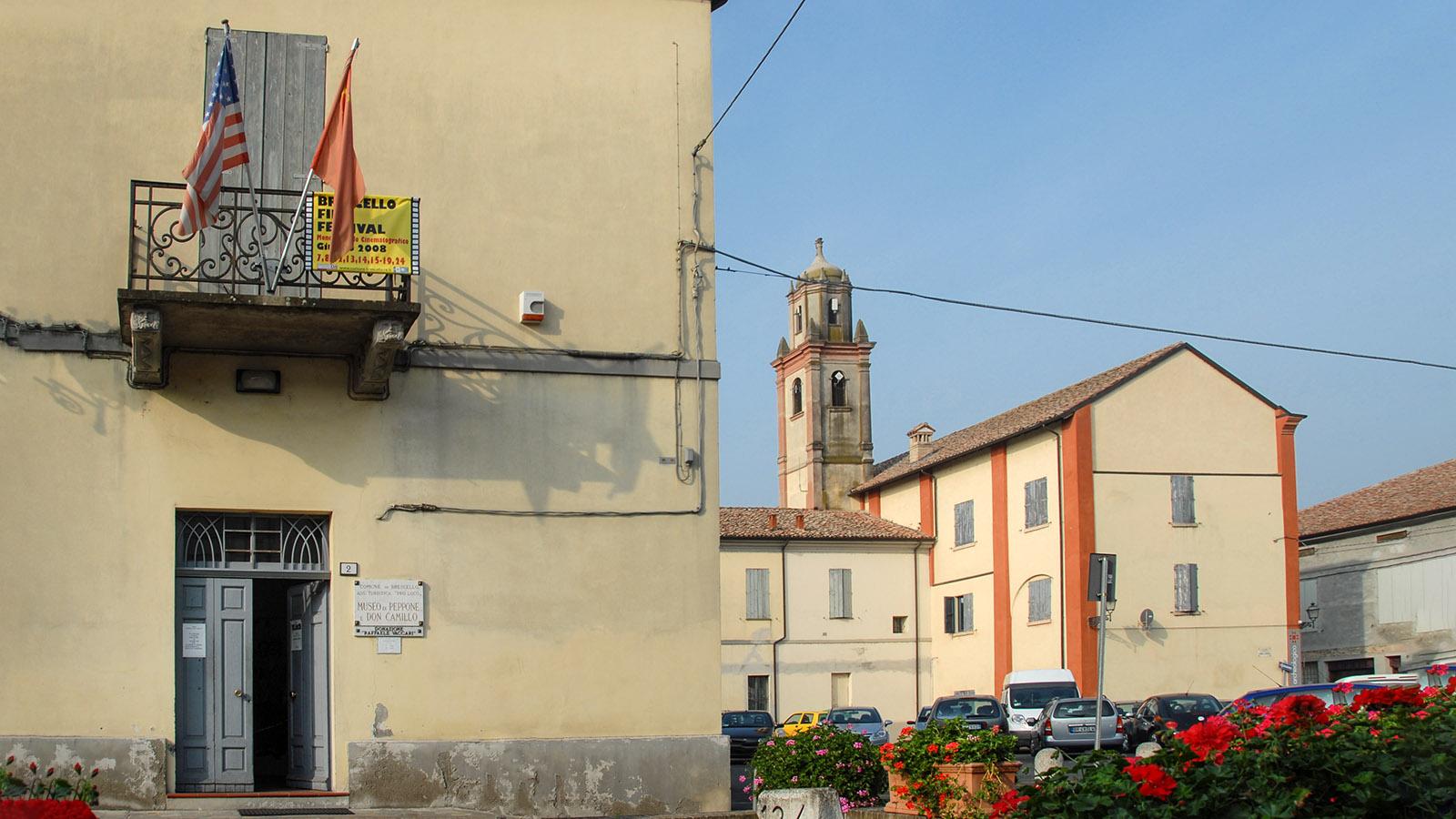 Das Don Camillo und Peppone-Museum von Brescello. Foto: Hilke Maunder