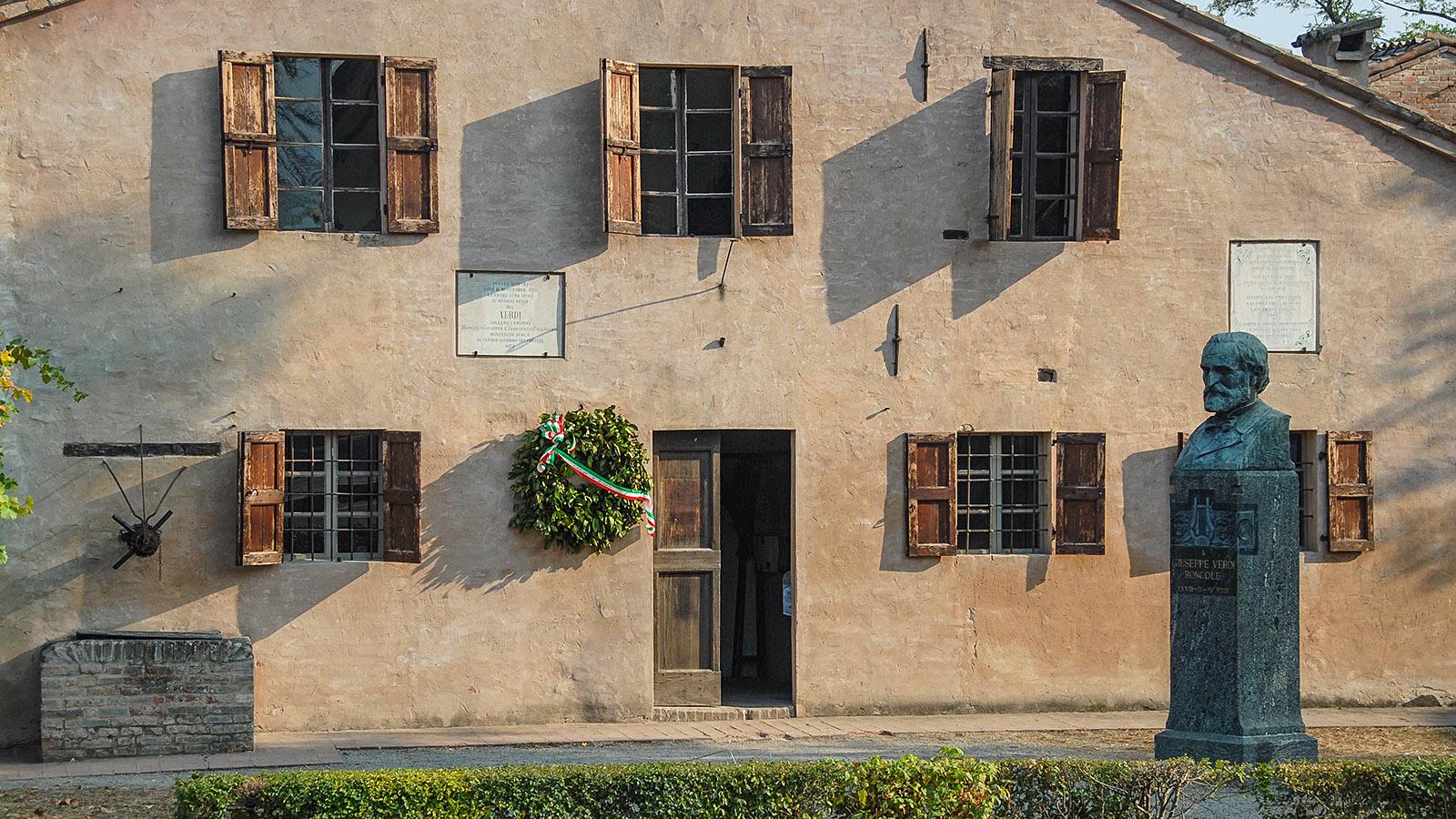Das Geburtshaus von Guiseppe Verdi in Roncole Verdi. Foto: Hilke Maunder