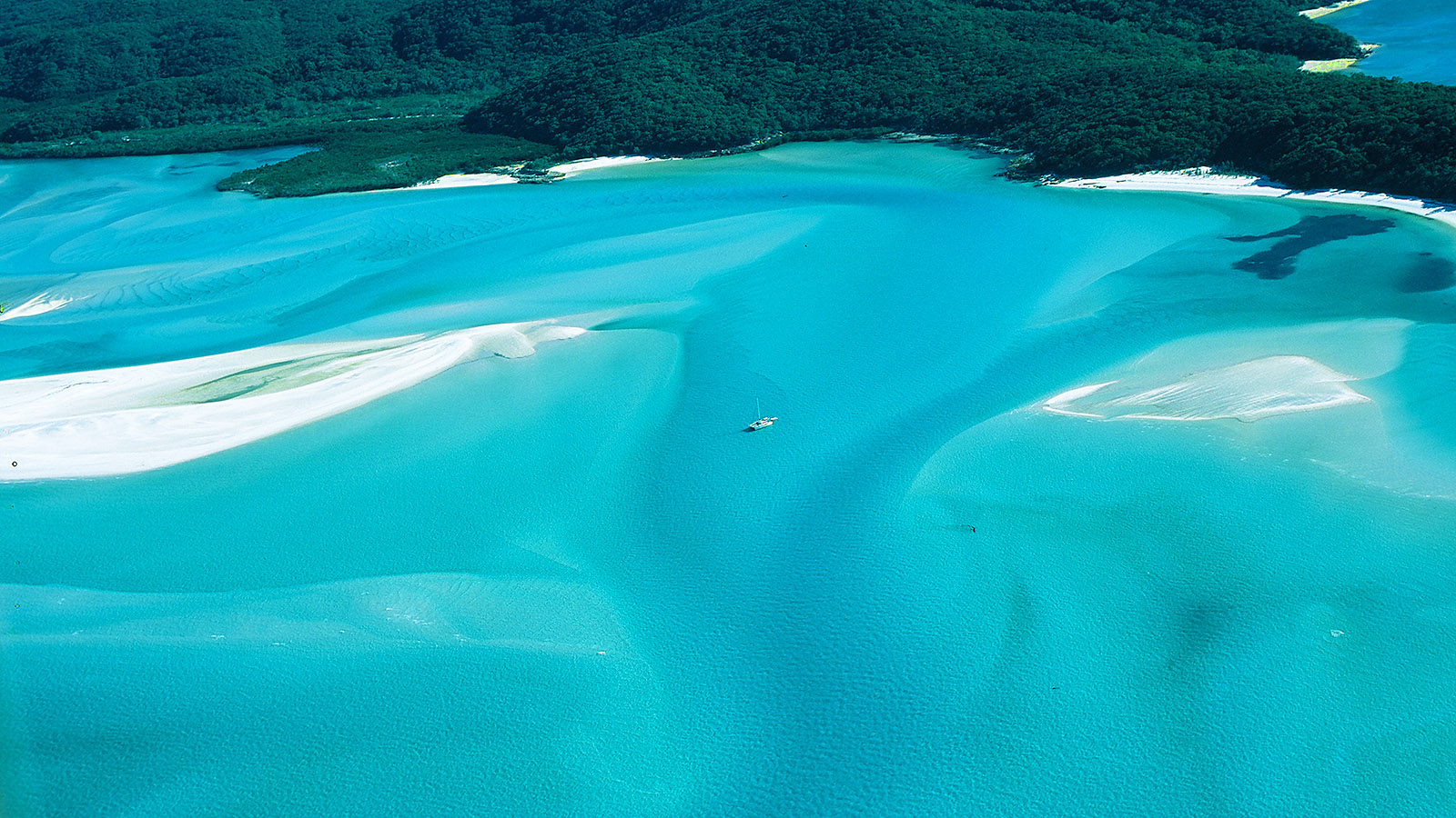 Queensland, Whitsunday Island aus der Luft. Foto: Hilke Maunder