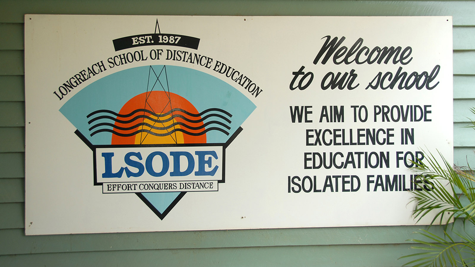 Die Longreach School of Distant Education. Foto: Hilke Maunder