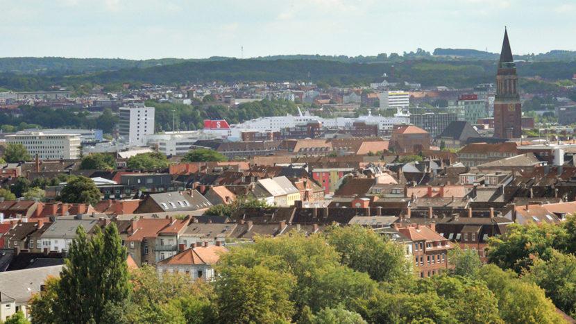 Stadtansicht von Kiel. Bildnachweis: LH Kiel/Bodo Quante
