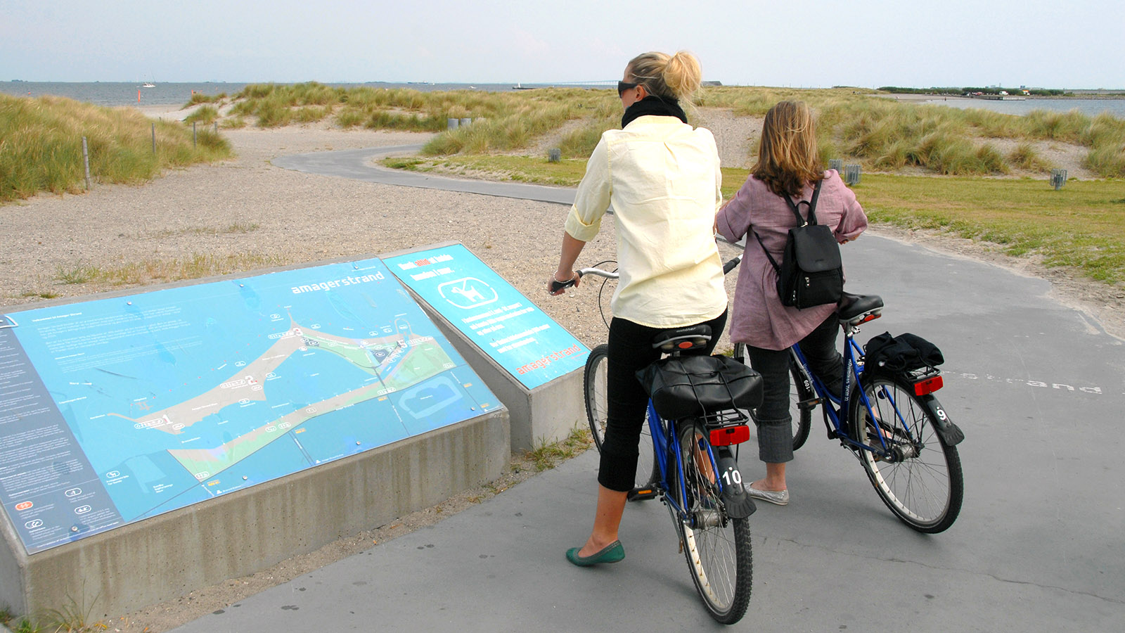 Kopenhagens Radrevier am Øresund: Amagerstrand. Foto: Hilke Maunder