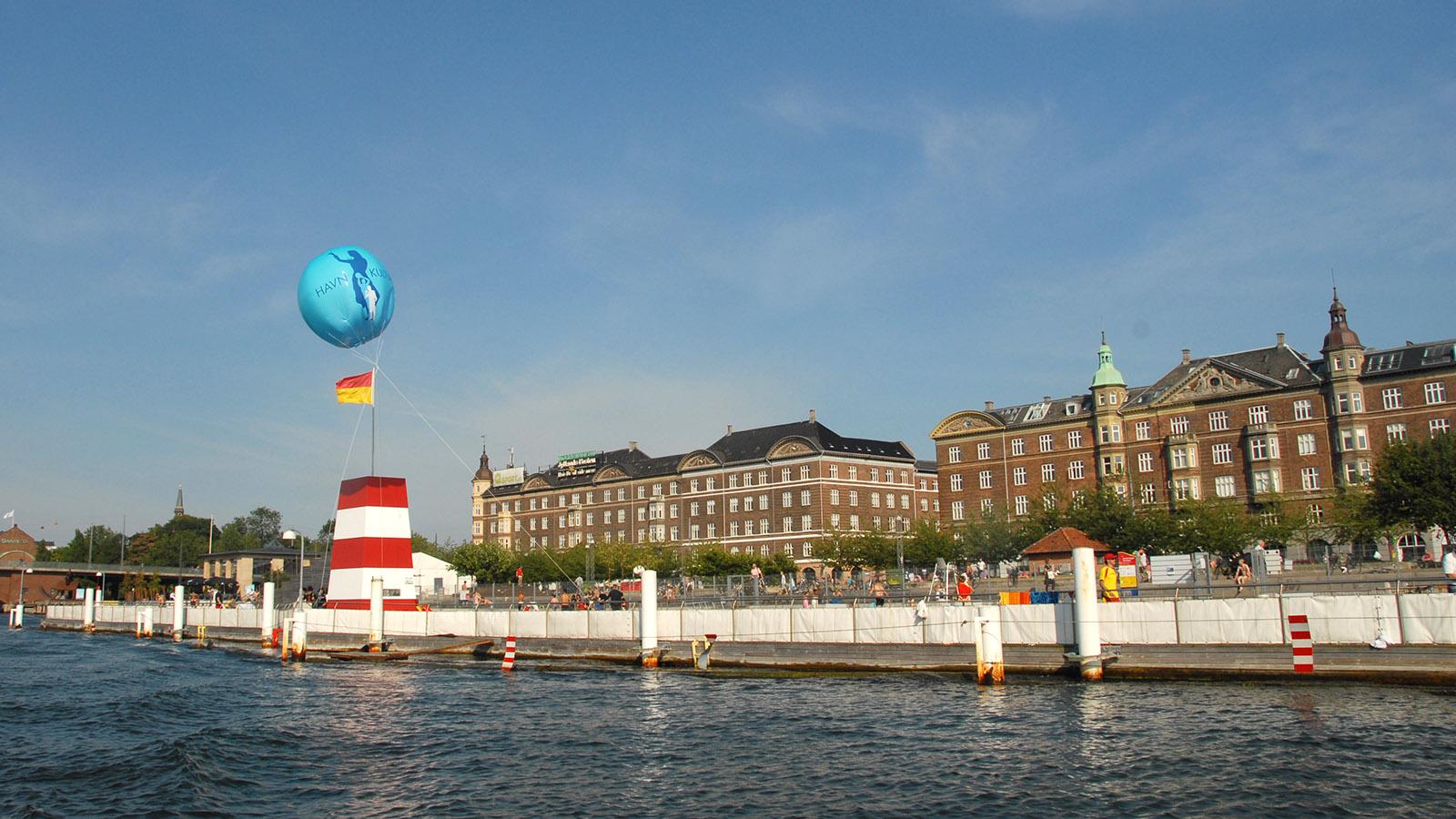 Grünes Kopenhagen. Islands Brygge. Foto: Hilke Maunder