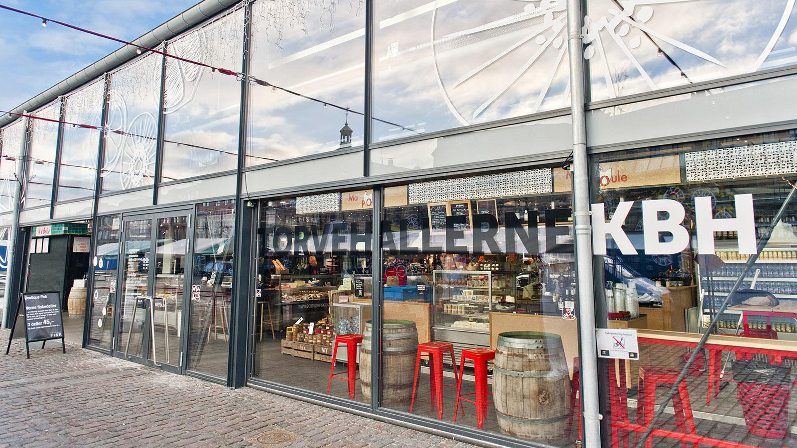 Torvehallerne - die grüne Markthalle von Kopenhagen. Foto: Hilke Maunder