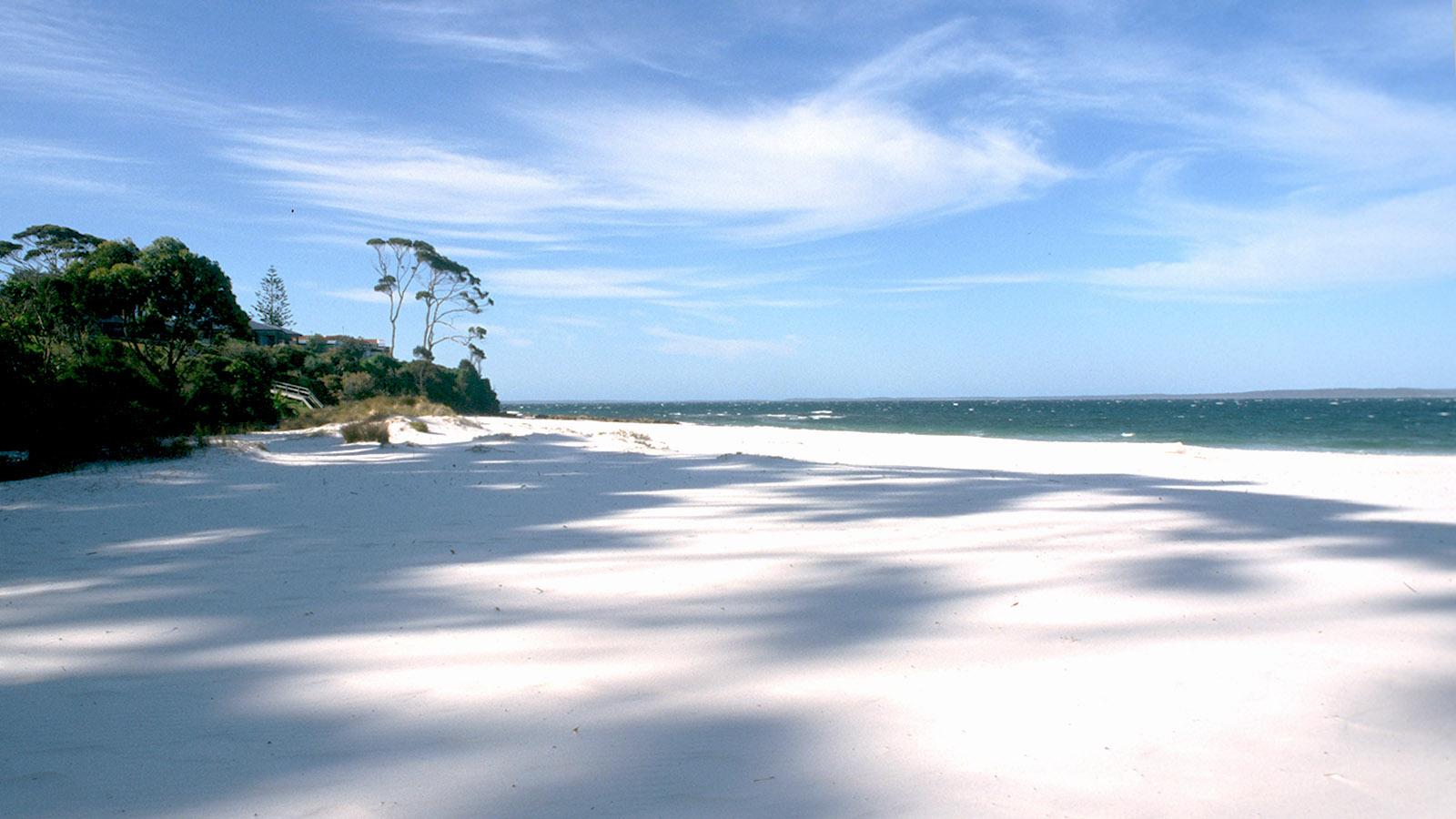 Hyams Beach, der weißeste Strand der Welt. Foto: Hilke Maunder