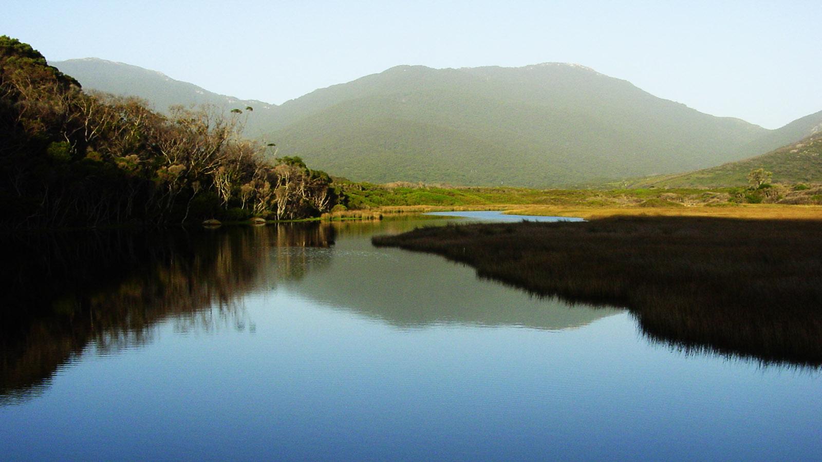 Der Tidal River des Wilsons Prom. Foto: Hilke Maunder