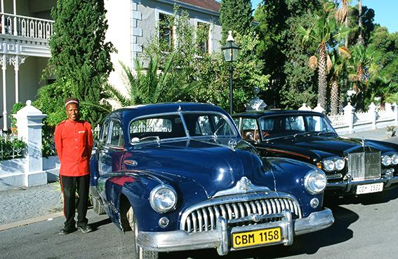Südafrika/Matjiesfontain: Lord Milner Hotel, Bediensteter