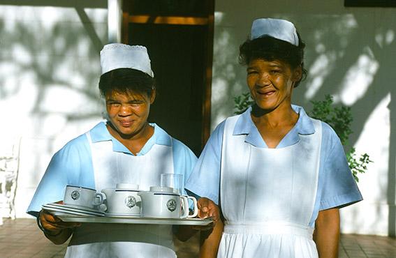 Südafrika/Matjiesfontain: Hotel Milner, Hotelservice